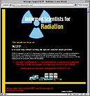Informed Scientists for Radiation